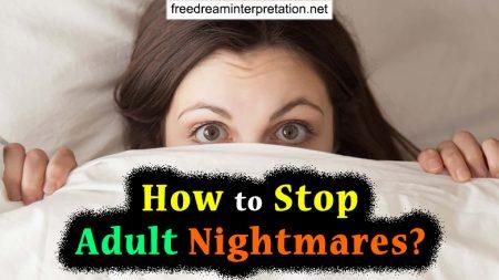 How To Stop Adult Nightmares?